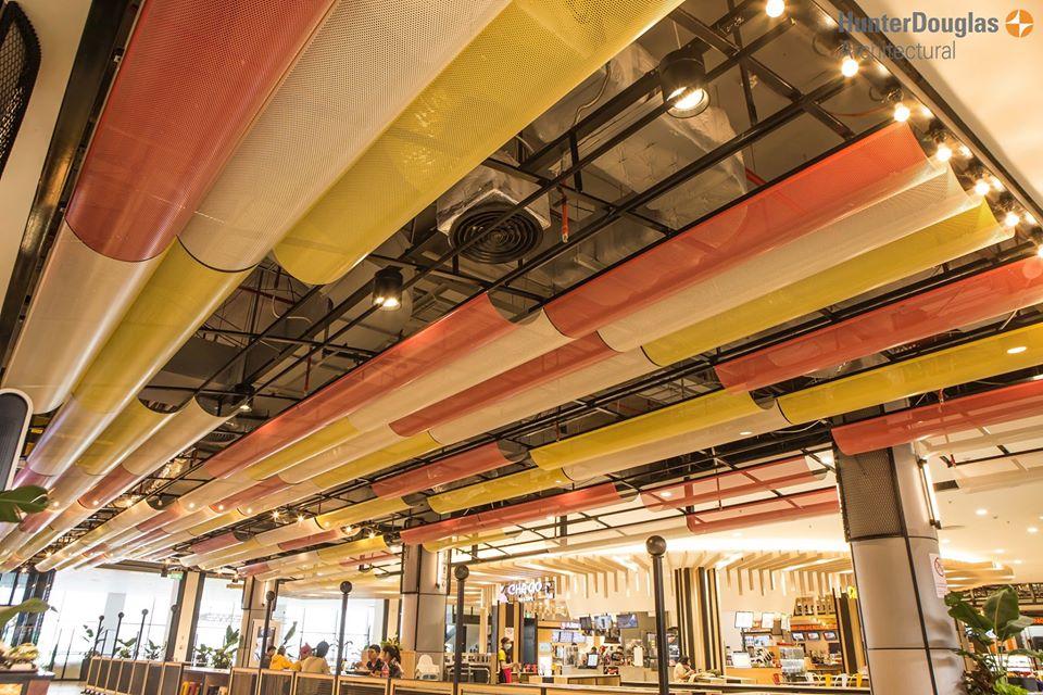 Dự án Aeon Mall Hà Đông sản phẩm trần nhôm Hunter Douglas 1
