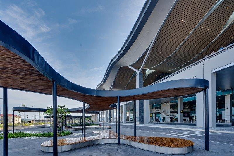 Thiết kế đặc sắc của Sân Bay Quốc Tế Cam Ranh 6