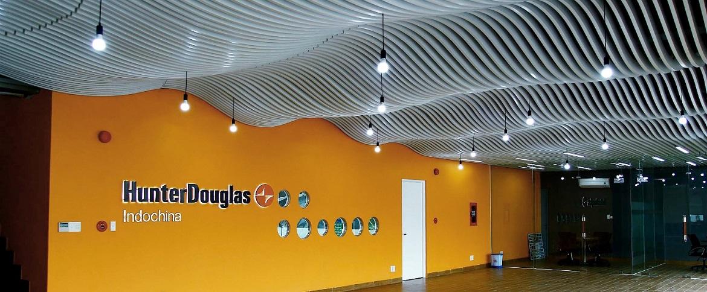Hunter Douglas tiên phong đưa Parametric Design vào trần và tấm ốp