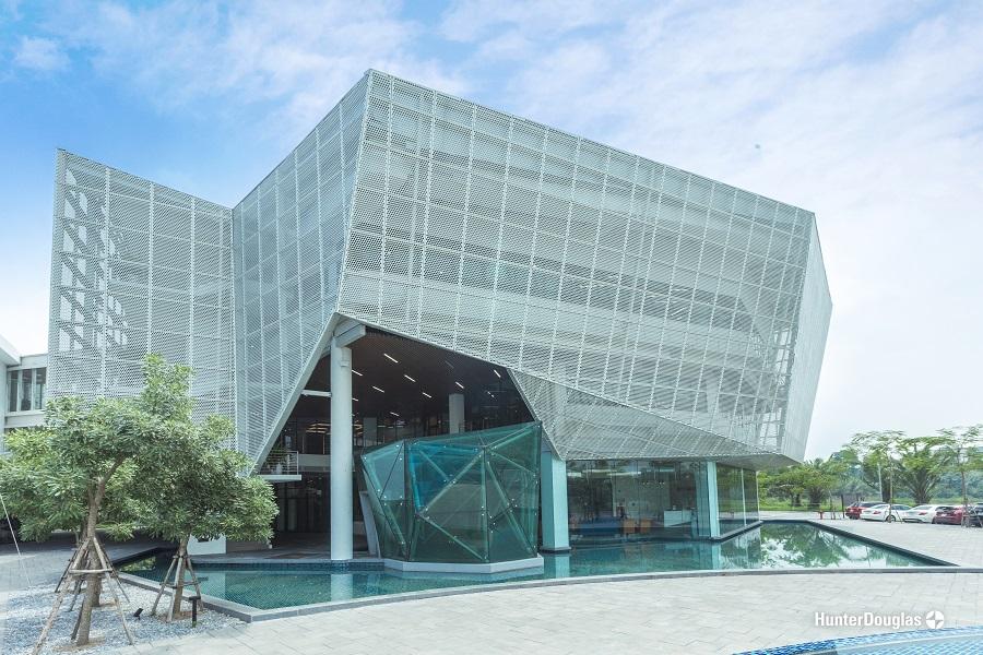 Trường đại học BUV dự án tấm ốp và trần 2