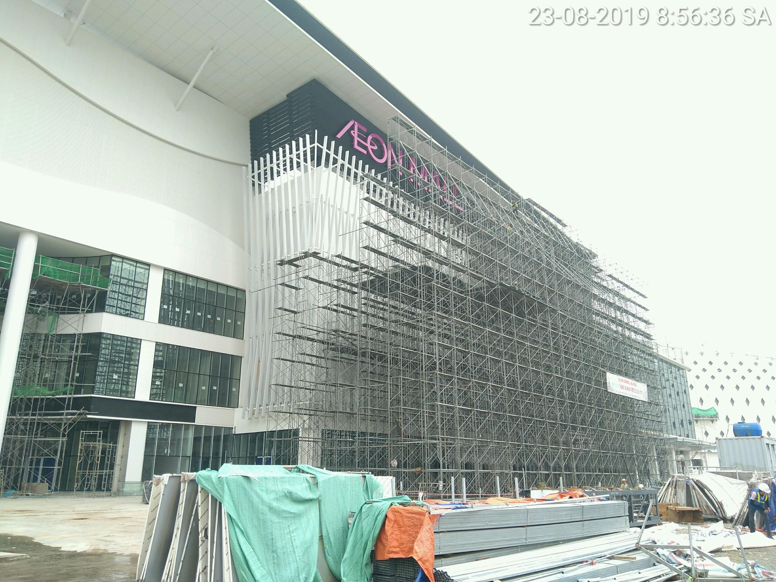 aeon mall Hà Đông lắp đặt 2