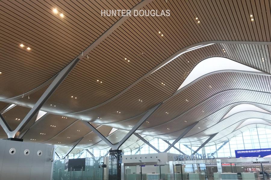 Sân bay Cam Ranh - trần nhôm sân bay