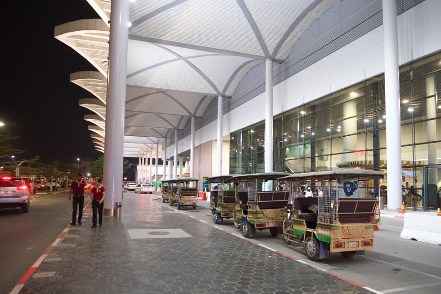 sân bay campuchia 2-trần nhôm sân bay