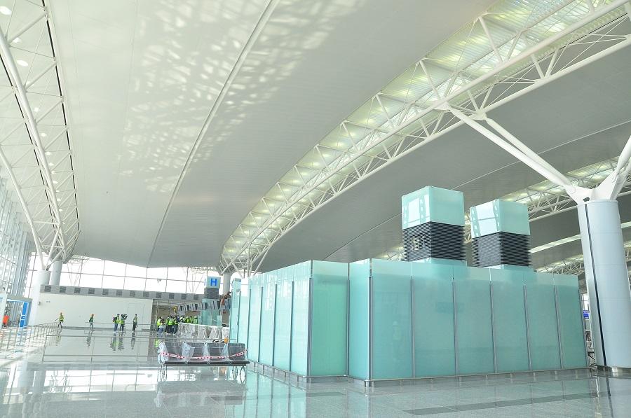 sân bay nội bài 1 -trần nhôm sân bay