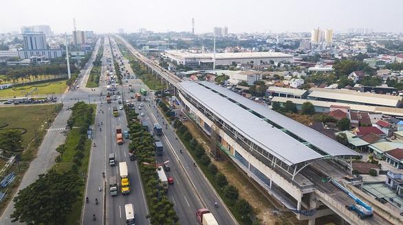 Hình ảnh nhà ga metro TPHCM