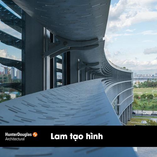 Lam chắn nắng luxalon sản phẩm bảo vệ mặt tiền 1