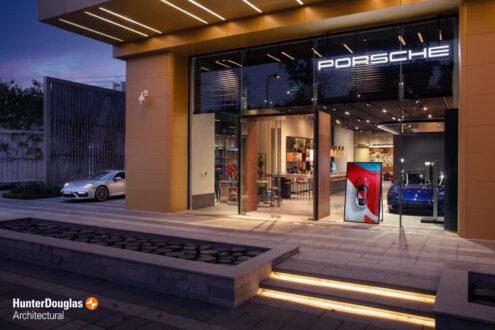 Dự án Trần Nhôm Showroom Porche 7